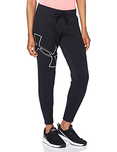 Under Armour Damen Good Europe Joggers, Black, S von Under Armour