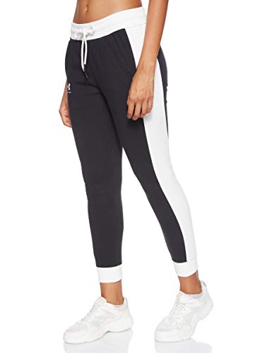 Under Armour Damen Rival Fleece Graphic Novelty Pant Hose, Schwarz, Large von Under Armour
