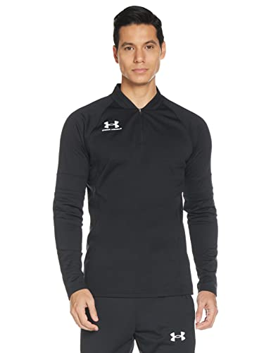 Under Armour Herren Challenger III Midlayer Sportshirt, Schwarz (Black/White (001)), Large von Under Armour