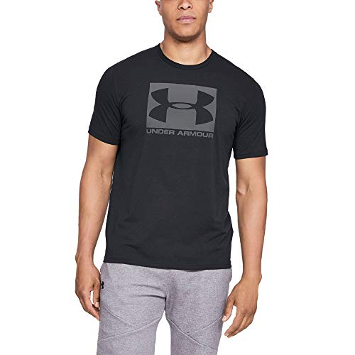 Under Armour Herren Kurzarmshirt UA BOXED SPORTSTYLE SS , Schwarz, XX-Large von Under Armour
