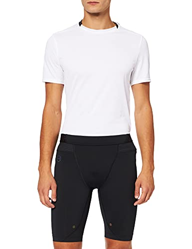 Under Armour Herren UA Comp Sport Shorts mit Rush-Technologie, Kurze Hose für Männer mit Kompressionspassform, Schwarz, Large von Under Armour