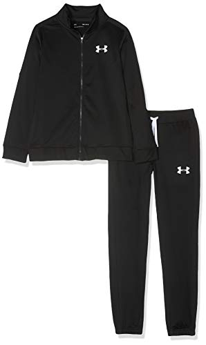 Under Armour Jungen Trainingsanzug Knit Track Suit, Schwarz, YSM, 1347743-001 von Under Armour