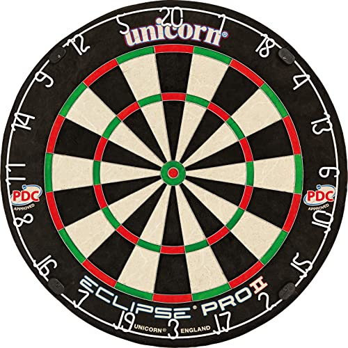 Unicorn Eclipse Pro 2 Bristle Dartboard von Unicorn