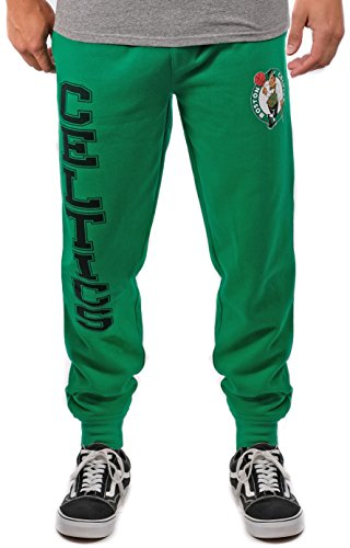 Unk NBA Herren VSF5166M-AM NBA Active Basic French Terry Jogger Hose, Team-Farbe, Kelly Green, Größe L von Unk NBA