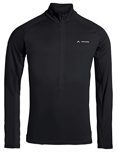 VAUDE Herren Men's Larice Light Shirt II Pullover, Black, XL von VAUDE