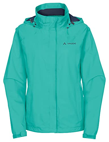 Vaude Damen Jacke Women's Escape Bike Light Jacket, Peacock, 40, 04992 von VAUDE