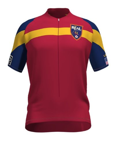 VOmax MLS Real Salt Lake Primary Damen Trikot Kurzarm, Jungen, Medium von VOmax