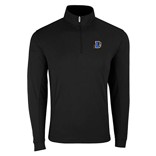 Vantage Apparel Minor League Baseball Quarter Zip Pullover, Herren, 1/4 Zip Pull Over Top, schwarz, XXXX-Large von Vantage Apparel