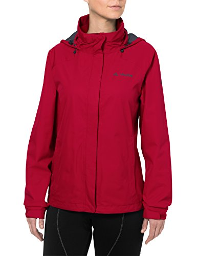 VAUDE Damen Escape Bike Light Jacket Jacke, rot (indian red), 40 von Vaude