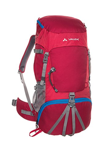 VAUDE Kinder Rucksaecke 50 Plus Hidalgo 42+8, indian red, 7 x 35 x 26 cm, 119476140 von VAUDE