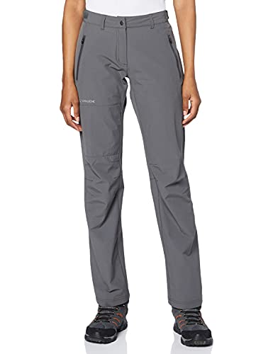 VAUDE Damen Hose Farley Stretch Pants II, iron, 46, 045768440460 von VAUDE