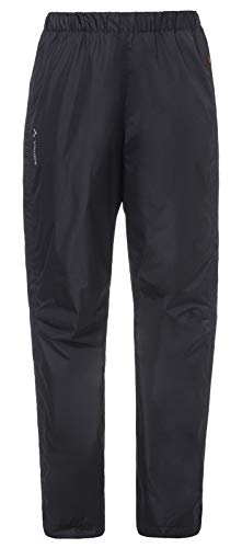VAUDE Damen Hose Women's Fluid Full-Zip Pants, black, 34, 012630100340 von VAUDE