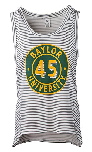 Venley Damen Tank Top NCAA Striped, Damen, gestreift, Small von Venley