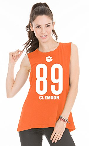 Venley NCAA Damen Abby Muscle Tee, Damen, neon-orange, Medium von Venley