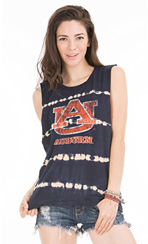 Venley NCAA Damen Bodda Bamboo Muscle Tank Top, Damen, Navy Bamboo, Medium von Venley