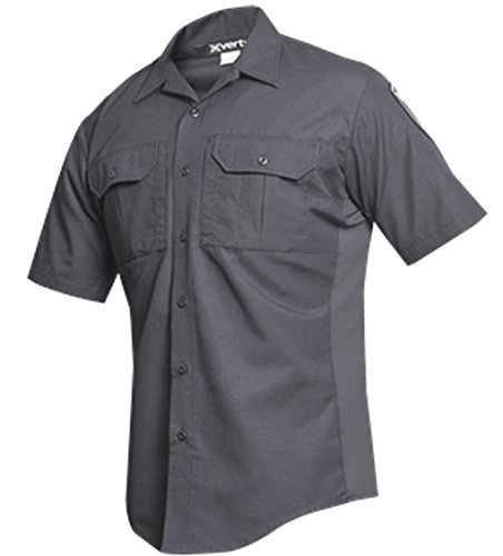 Vertx Men's Phantom LT Short Sleeve Shirt, Smoke Grey, Small von Vertx
