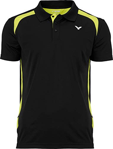 Victor Polo Function Badmintonshirt, Black, XL von Victor