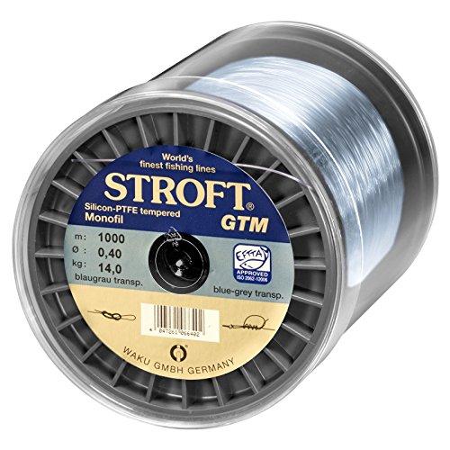 WAKU Schnur STROFT GTP Typ S Geflochtene 50m Silbergrau S1-0.150mm-5kg