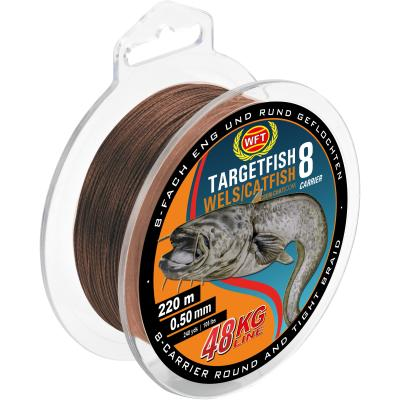 WFT TF8 Catfish brown 220m 60Kg 0,60 von WFT