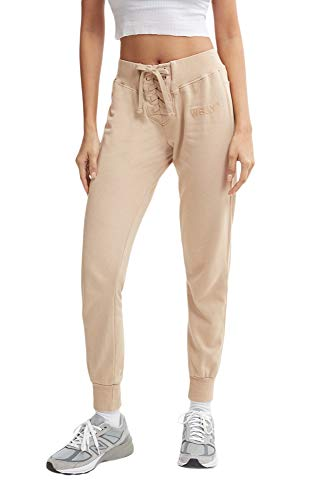 WSLY Damen The Ecosoft Tie Up Jogger, Damen, Hosen, The Ecosoft Tie Up Jogger, Trench, X-Large von WSLY