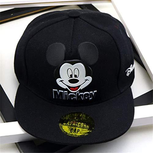 WULIAN Kinder Cartoon Mickey Baseball Cap Kinder Jungen F/ür Baby Boy M/ädchen H/üte Kinder Snapback Cap Shade Atmungsaktive Mesh Caps