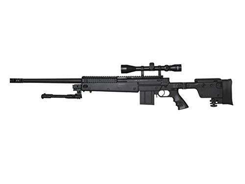 Well MB4407 Upgrade Airsoft Sniper Rifle, mit Metall Internals -Roedale Deluxe Edition- < 0,5 J. von Well