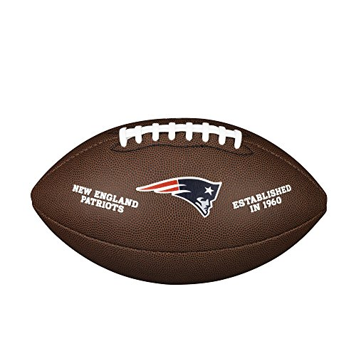 Wilson Unisex-Adult NFL LICENSED BALL NE American Football, BROWN, Uni von WILSON