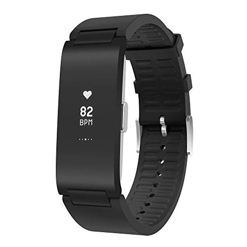 Withings Unisex-Adult Pulse HR-Fitnesstracker, Black, 18mm von Withings