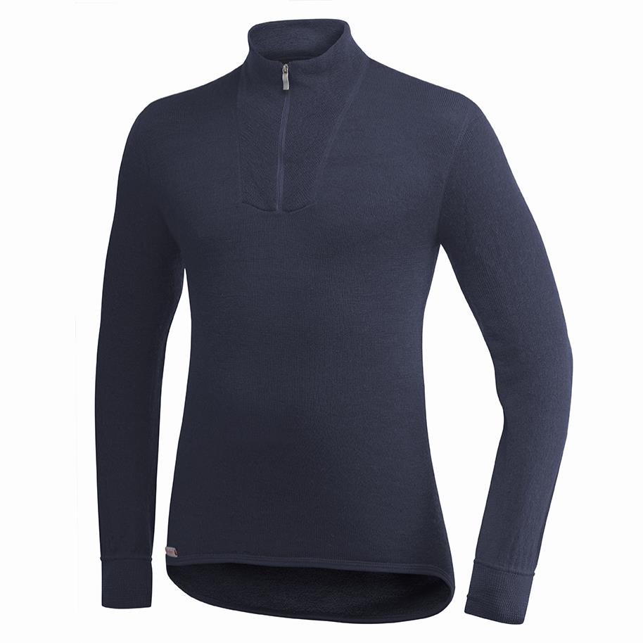 Woolpower Turtleneck 200 Funktionsshirt dunkelblau,navy Herren von Woolpower