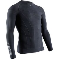 X-BIONIC Moto Energizer 4.0 Light Long Sleeve Shirt charcoal/pearl grey S von X-BIONIC
