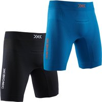 X-BIONIC Regulator Run Speed Laufshorts teal blue/kurkuma orange S von X-BIONIC