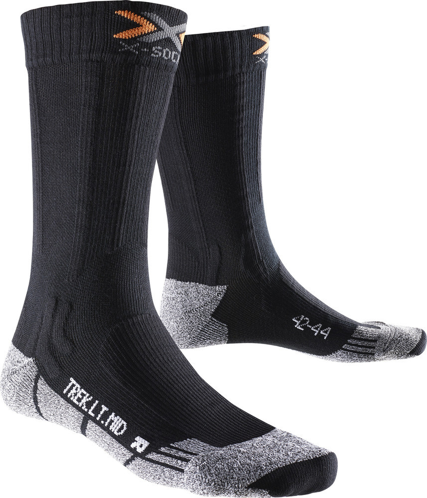 X-SOCKS Trekking Light Mid Calf Wandersocke X020416-B002 von X-Socks