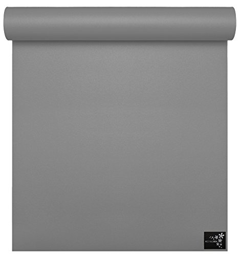 Yogistar Yogamatte Sun 4mm Light Grey von Yogistar