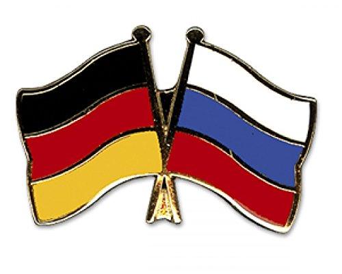 Yantec Freundschaftspin Deutschland-Alaska Pin Flagge