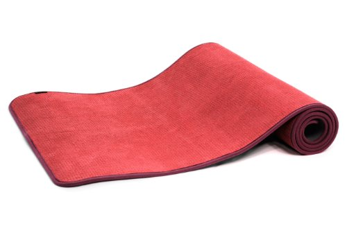 Yogistar Yogamatte Light - rutschfest - Rouge von Yogistar