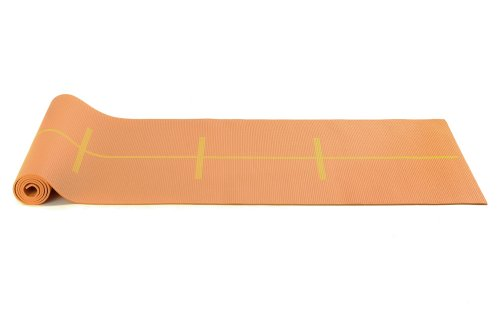 Yogistar Yogamatte Plus Alignment - rutschfest - Mango von Yogistar