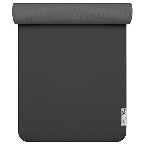 Yogistar Yogamatte Pro Black/Anthracite von Yogistar