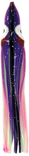 Zak Tackle Squid Bodies Köder (5 Stück), Purple with Pink Stripe and Glow Belly von Zak Tackle