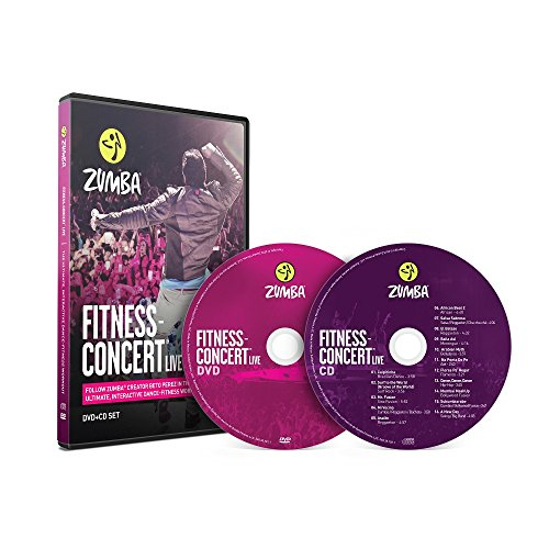 Fitness-Concert Live Zumba DVD+CD Set, von Zumba Fitness