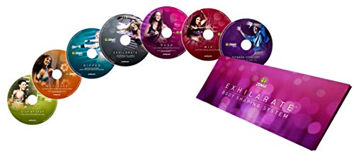 Zumba Fitness® Exhilarate Deutsche original version Premium Body Shaping System 7 DVDs Set von Zumba Fitness