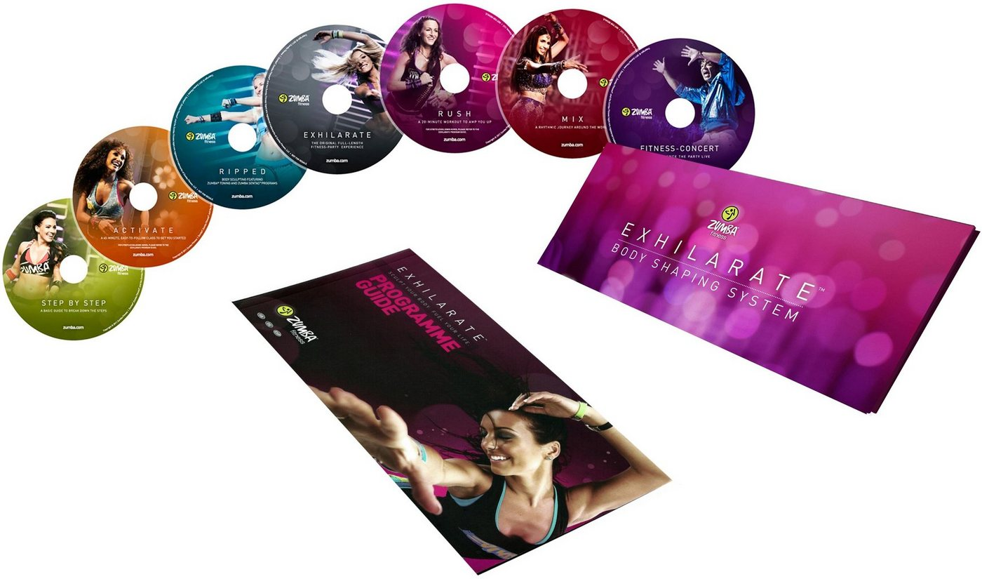 Zumba Fitness Trainings-DVD »Exhilarate Body Shaping System«, (7-St) von Zumba Fitness