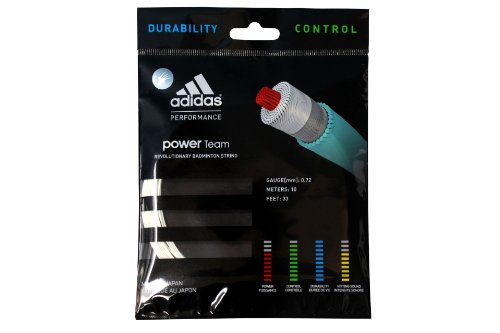 adidas Badmintonsaite Power Team Set, Weiß, One size, ST117201 von adidas