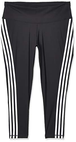 adidas Damen BT 3S 7/8 T Tights, Black/White, 1X von adidas