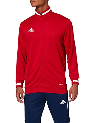adidas Herren T19 TRK JKT M Sport Jacket, Power red/White, L von adidas