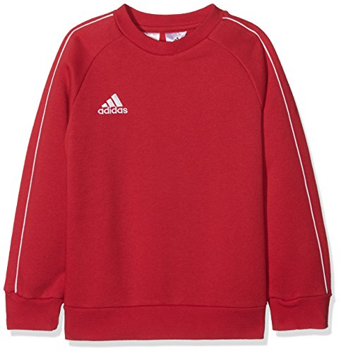 adidas Kinder Core18 SW Top Y Sweat-Shirt, Rot (power red/White), 152 (11-12 Jahre) von adidas