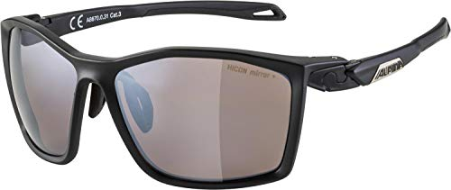 ALPINA Unisex - Erwachsene, TWIST FIVE Q-LITE Sportbrille, black matt, One Size von alpina