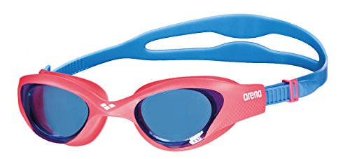 ARENA Kinder Schwimmbrille The One Junior, lightblue-Red-Blue, Size von ARENA