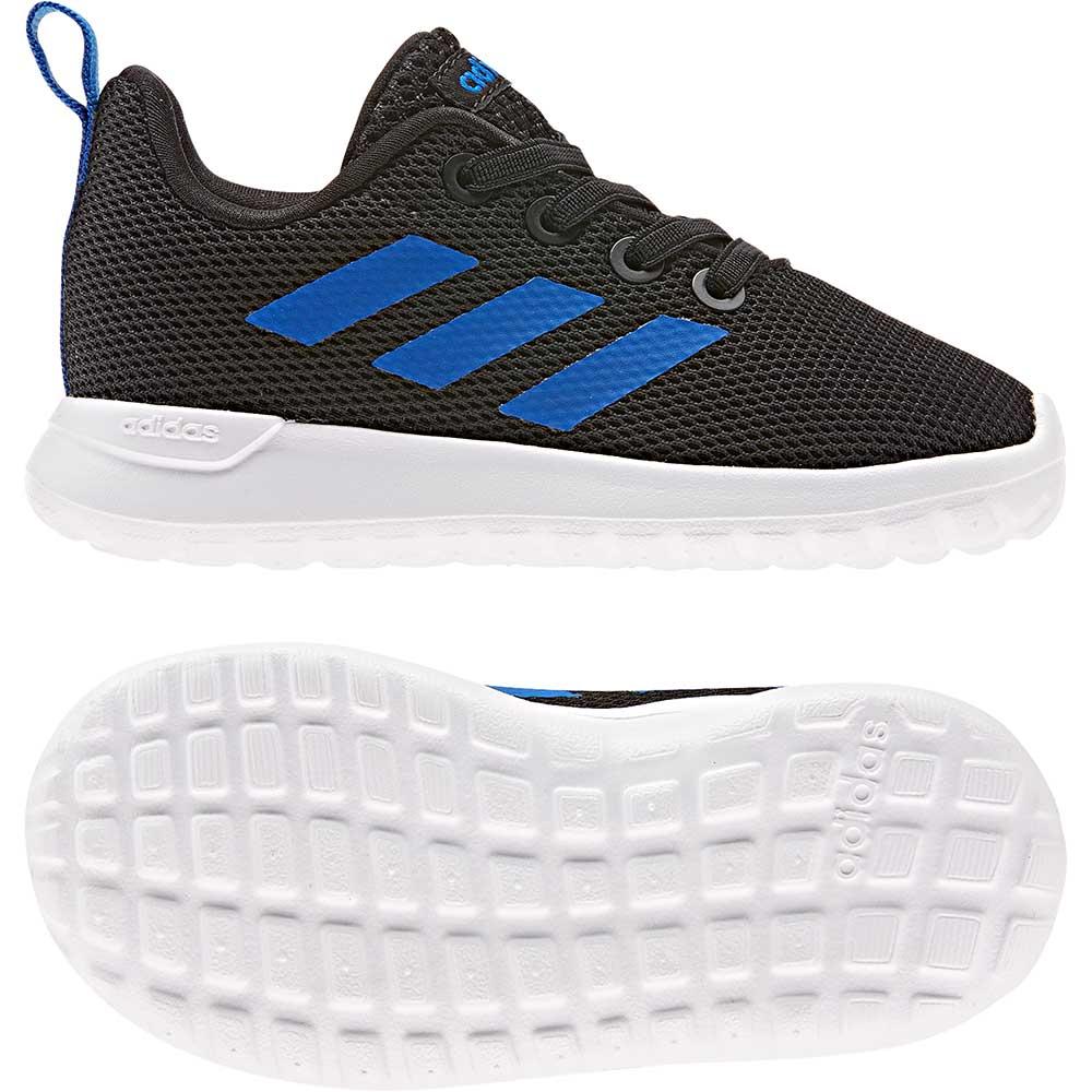 Sneaker LITE RACER I von adidas neo label in fuchsia