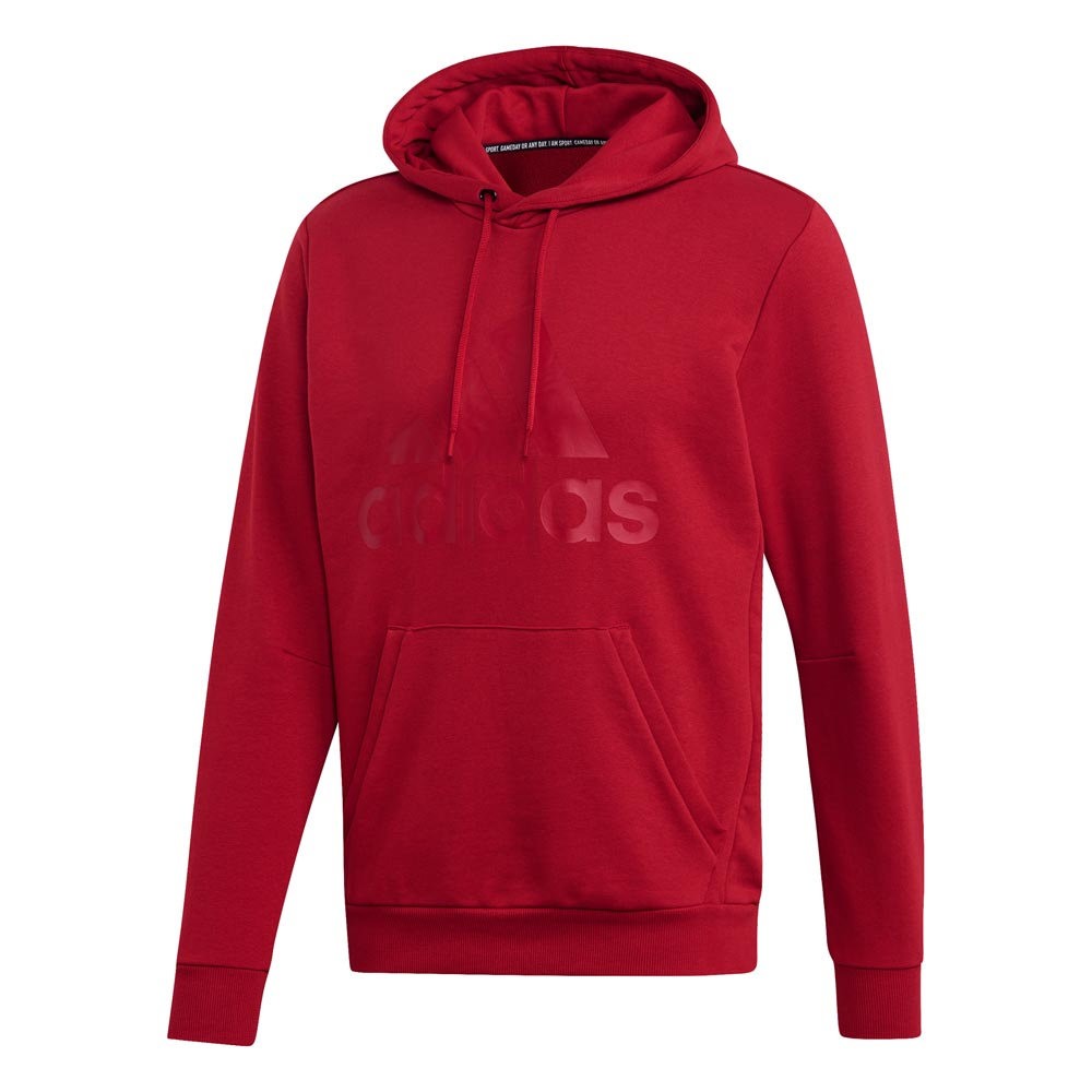 Adidas Must Have Badge of Sport Hoody - rot