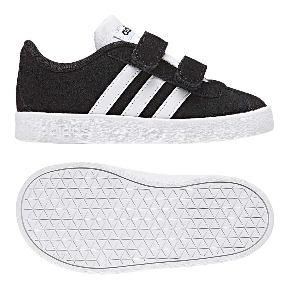 best website 4b5f3 d08fa Adidas VL Court 2.0 CMF I Kinder - schwarz